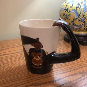 World Market Monkey coffee/tea mug